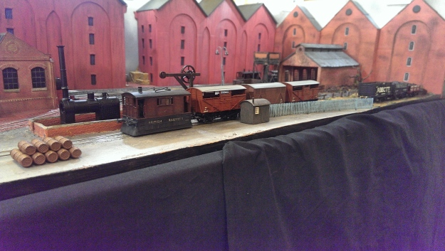 Brewery Pit at Loddon Vale Model Railway Show 2016